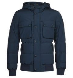 Belstaff Ridge 2.0 Navy Puffer Jacket