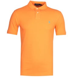 Polo Ralph Lauren Neon Orange Polo Shirt