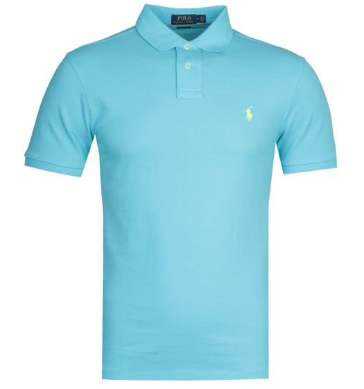 Polo Ralph Lauren Neon Blue Polo Shirt
