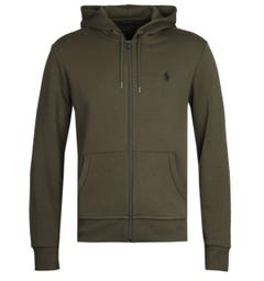 Polo Ralph Lauren Green Tech Fleece Hoodie