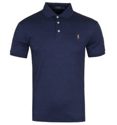 Polo Ralph Lauren Slim Fit Pima Polo Shirt - Spring Navy