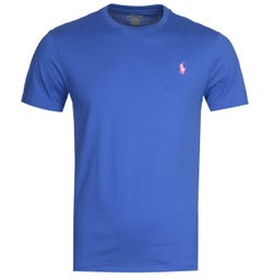 Polo Ralph Lauren Basic Blue T-Shirt