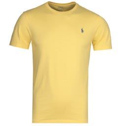 Polo Ralph Lauren Washed Pastal Yellow T-Shirt