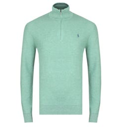 Polo Ralph Lauren Green Pima Cotton Sweater