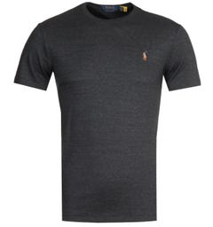 Polo Ralph Lauren Grey Pima T-Shirt