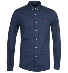 Polo Ralph Lauren Dyed Navy Chino Shirt