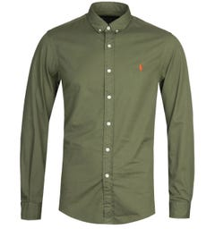 Polo Ralph Lauren Dyed Green Chino Shirt