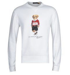 Polo Ralph Lauren Bear White Sweatshirt