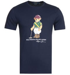 Polo Ralph Lauren Navy Bear T-Shirt