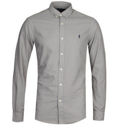 Polo Ralph Lauren Dyed Grey Oxford Shirt