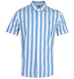 Polo Ralph Lauren Stripe Blue Shirt