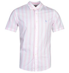 Polo Ralph Lauren Stripe Pink Shirt
