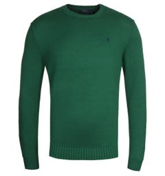 Polo Ralph Lauren Cotton Shaker Green Sweater