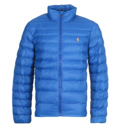 Polo Ralph Lauren Packable Quilted Sapphire Blue Jacket