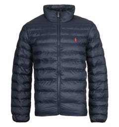 Polo Ralph Lauren Packable Quilted Navy Jacket