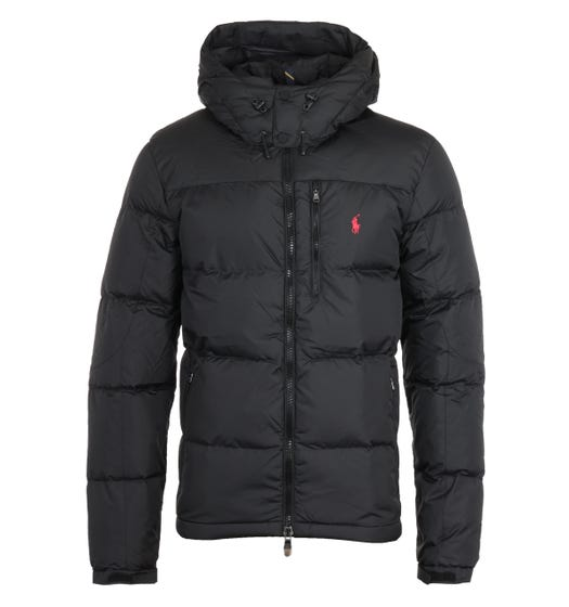 Polo Ralph Lauren El Cap Padded Removable Hood Black Jacket