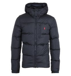 Polo Ralph Lauren El Cap Padded Removable Hood Navy Jacket