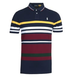 Polo Ralph Lauren Striped Mesh Polo Shirt
