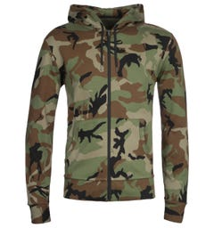 Polo Ralph Lauren Zip Camo Hooded Sweatshirt