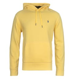 Polo Ralph Lauren Pastel Popover Yellow Hooded Sweatshirt