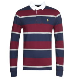 Polo Ralph Lauren Multi Striped Rugby Shirt
