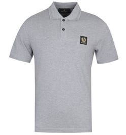 Belstaff Short Sleeve Grey Polo Shirt