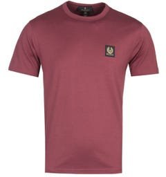 Belstaff Short Sleeve Red Logo T-Shirt