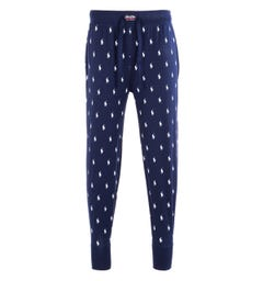 Polo Ralph Lauren All Over Pony Print Navy Lounge Pants