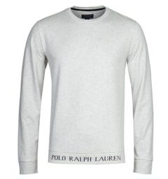 Polo Ralph Lauren Script Heather Grey Sweatshirt