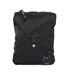 CP Company Black Lens Side Pouch Bag