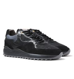 Android Homme Santa Monica Black & Grey Trainers