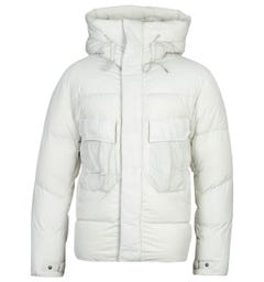 Ten C Karakorum Gauze White Down Anorak Jacket