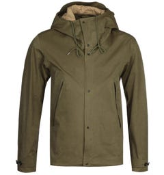 Ten C Green Thermo Anorak Jacket