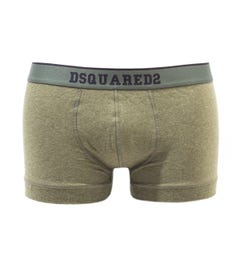DSquared2 Logo Green Boxer Shorts