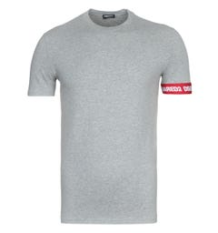 DSquared2 Soft Cotton Grey T-Shirt