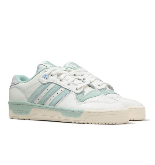 Adidas Originals Rivalry Low White Trainers