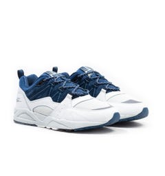 Karhu Fusion 2.0 White & Blue Wing Teal Trainers