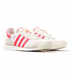 Adidas Originals SL 80 White & Red Trainers