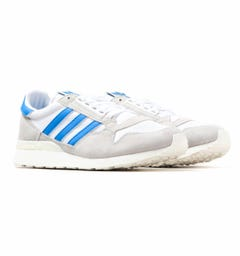 Adidas Originals ZX 500 White & Blue Trainers
