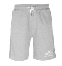 Pretty Green x Umbro Taped Grey Shorts