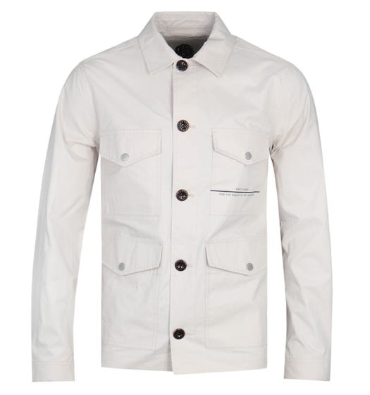Pretty Green Damon Stone Overshirt