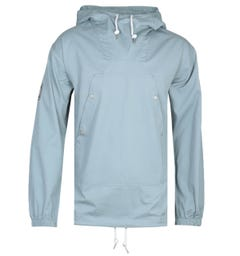 Pretty Green Forest Overhead Blue Hooded Jacket