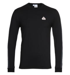 Pyrenex Bario Black Long Sleeve T-shirt