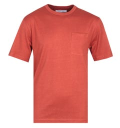 Samsoe & Samsoe Bredebro 9662 Burnt Orange T-Shirt