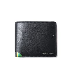 PS Paul Smith Fold Stripe Black Wallet