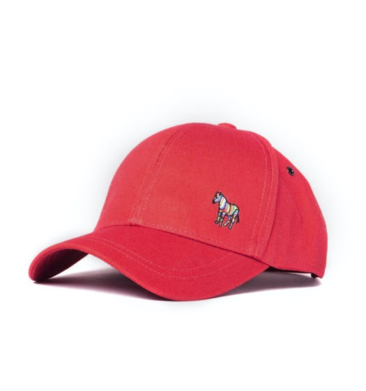 PS Paul Smith Zebra Red Baseball Cap