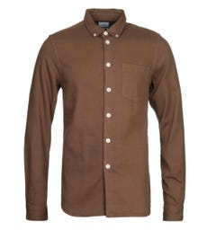 PS Paul Smith Tailored Fit Olive Shirt