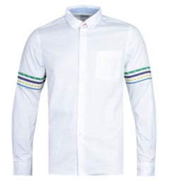 Paul Smith White Tailored Long Sleeve Shirt