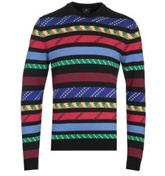Paul Smith Multi Pullover Crew Neck Sweater