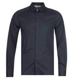 PS Paul Smith Tailored Fit Navy Shirt